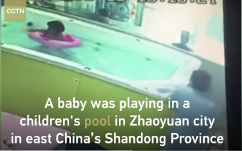 Unattended Child Almost Drowns
