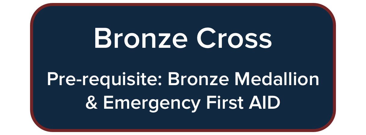 Bronze Cross Course - pre-requisite: Bronze Medallion & Emergency First Aid